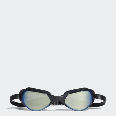 Swimming Black persistar comfort mirrored swim goggle