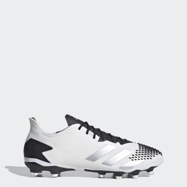 Calzado de Fútbol Predator 20.2 Multiterreno Blanco Hombre Fútbol