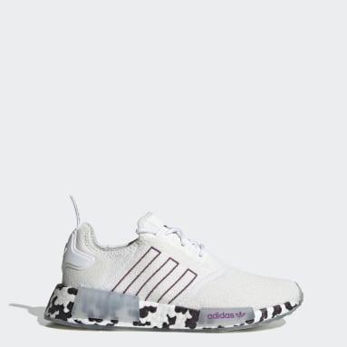 Women's Originals White NMD_R1 Shoes