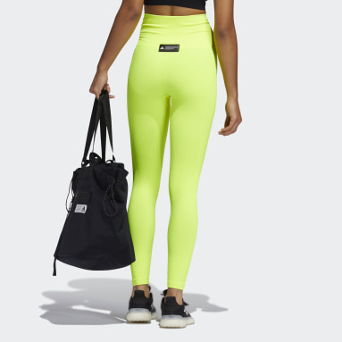 Women Training Yellow FORMTION Sculpt Tights