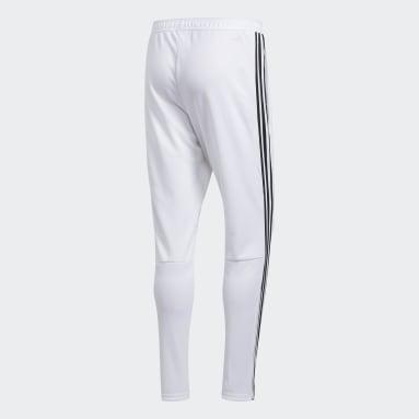 Pantalón entrenamiento Tiro 19 Blanco Hombre Fútbol