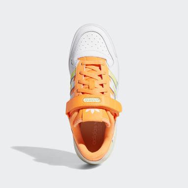 Women Originals Orange Forum Low Premium Shoes