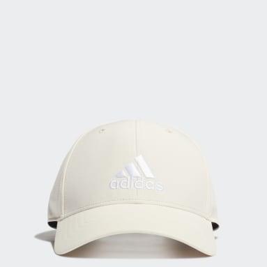 Training White Lightweight Embroidered Baseball Cap