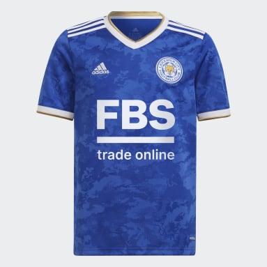 Maillot Leicester City FC Domicile Bleu Enfants Football