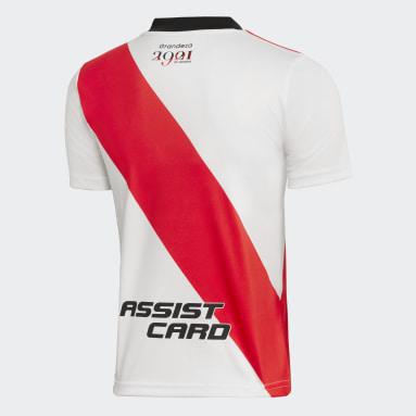 Camiseta Local River Plate 21/22 Blanco Niño Fútbol