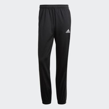 Men Gym & Training Black Core 18 Pants