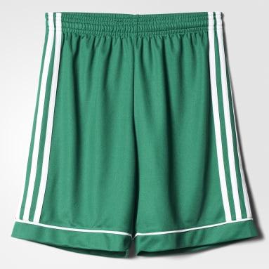 Pantalón corto Squadra 17 Verde Niño Gimnasio Y Entrenamiento