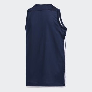 Maillot 3G Speed Reversible Bleu Enfants Basketball