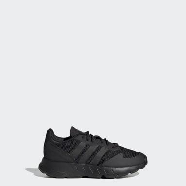 Children Originals Black ZX 1K Shoes