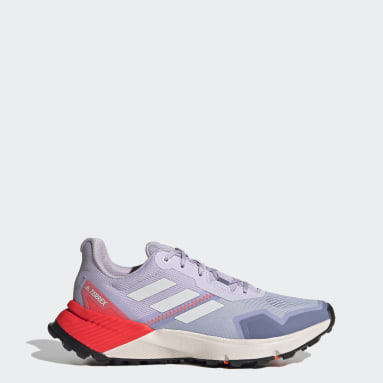Women TERREX Purple Terrex Soulstride Trail Running Shoes