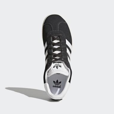 Boys Originals Grey Gazelle Shoes