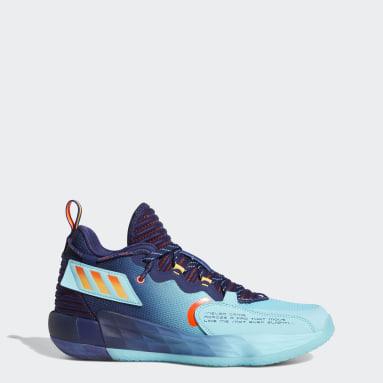 Zapatilla Dame 7 EXTPLY Azul Baloncesto