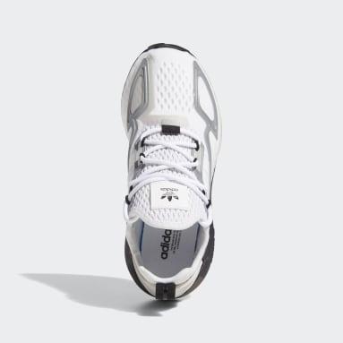 Chaussure ZX 2K Boost blanc Adolescents 8-16 Years Originals