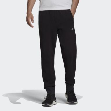 Men Sportswear Black adidas Sportswear Comfy & Chill Pants