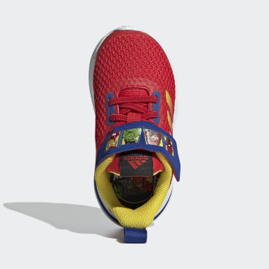 Infants Training Red FortaRun Super Hero Shoes