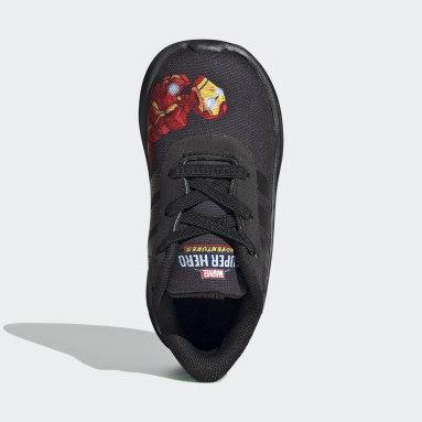 Kids Running Black Lite Racer 2.0 Shoes