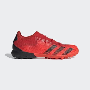 Zapatos de Fútbol Predator Freak.3 Pasto Sintético Rojo Hombre Fútbol