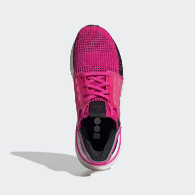 ผู้หญิง วิ่ง สีชมพู รองเท้า Ultraboost 19