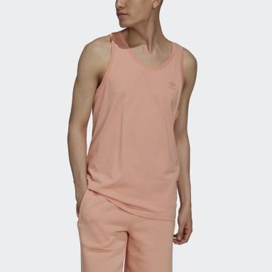 Men Originals Pink Adicolor Classics MM Trefoil Tank Top