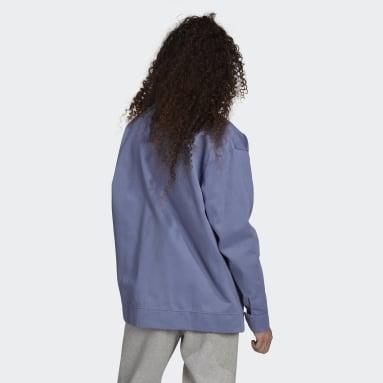 Men Originals Purple Adicolor Twill Jacket