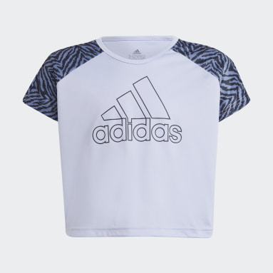 Mädchen Fitness & Training Designed 2 Move Seasonal T-Shirt Lila