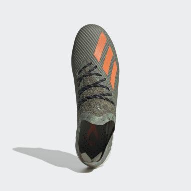 Calzado de Fútbol X 19.1 Terreno Suave Verde Hombre Fútbol