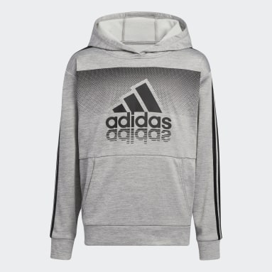Youth Training Grey Fade Horizon Hoodie (Extended Size)