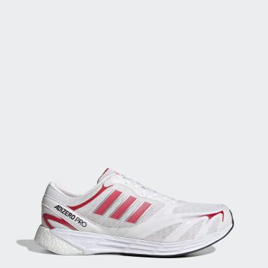 Chaussure Adizero Pro V1 DNA Blanc Running