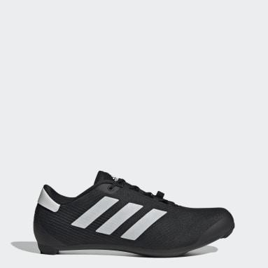 Wielrennen zwart The Road Fietsschoenen