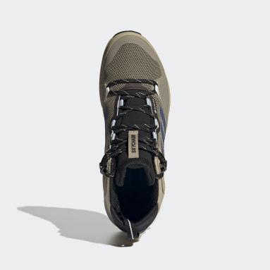 Men TERREX Beige Terrex Skychaser 2 Mid GORE-TEX Hiking Shoes