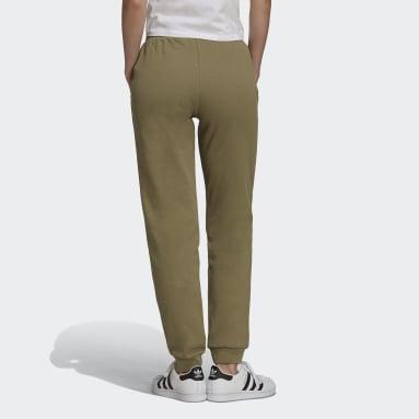 Pantaloni adicolor Essentials Slim Joggers Verde Donna Originals