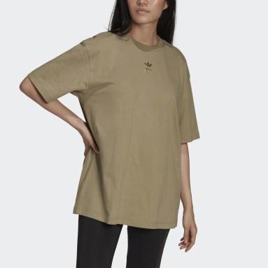 Kortermet t-skjorte Grønn