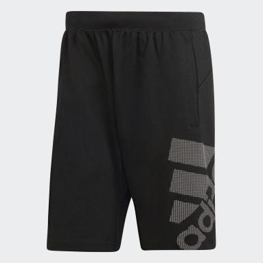 ผู้ชาย โยคะ สีดำ กางเกงขาสั้น 4KRFT Sport Graphic Badge of Sport