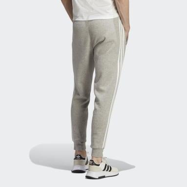 Pantalón Adicolor Classics 3 Tiras Gris Hombre Originals