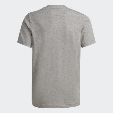 Boys Lifestyle Grey Essentials Tee