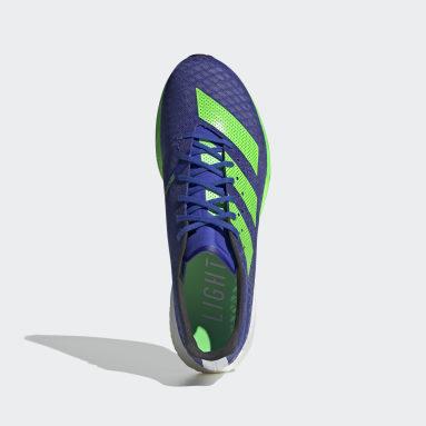 Hardlopen Blauw Adizero Pro Schoenen