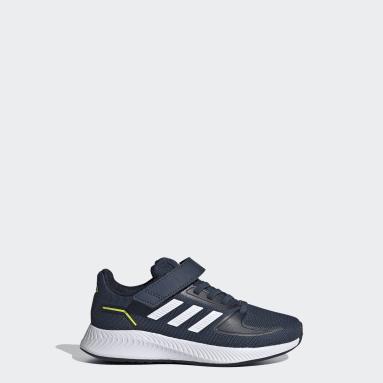 Kids 4-8 Years Running Blue Runfalcon 2.0 Shoes