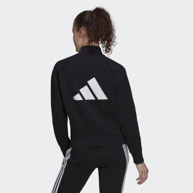 черный Куртка-бомбер adidas Sportswear Future Icons Logo Graphic