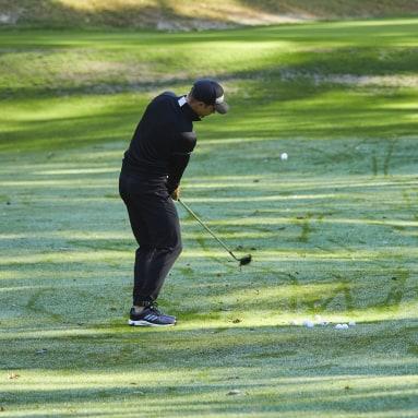 Golf čierna Obuv EQT Wide Golf