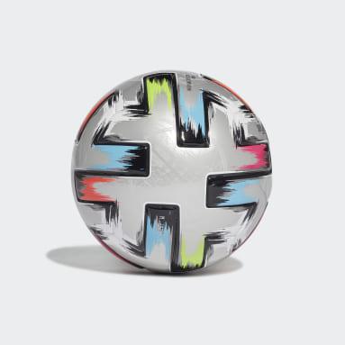 Minibalón Uniforia Finale Plateado Fútbol