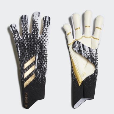 Football Black Predator 20 Pro Goalkeeper Gloves