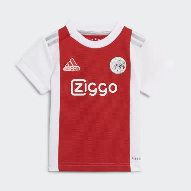 Kinderen Voetbal Wit Ajax Amsterdam 21/22 Baby Thuistenue