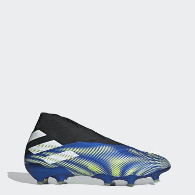 Soccer Blue Nemeziz+ Firm Ground Cleats