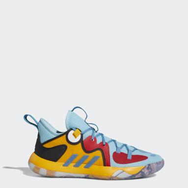 Basketball Blue Harden Stepback 2.0 Avatar Shoes