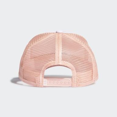Boné Trucker Adicolor Curved (UNISSEX) Rosa Originals