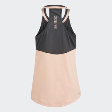 Camiseta sin mangas Club Tennis Rosa Niña Tenis