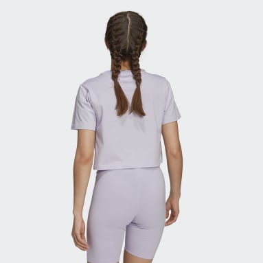 Women Originals Purple Logo Play T-Shirt