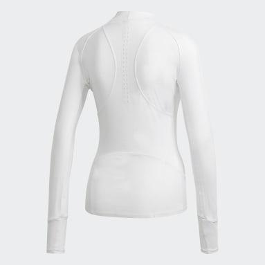 Top Manga Larga True Purpose Blanco Mujer adidas by Stella McCartney