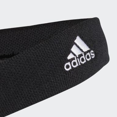 Field Hockey Black Tennis Headband
