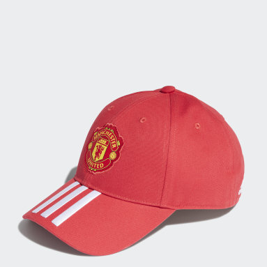 Fotbal červená Kšiltovka Manchester United Baseball